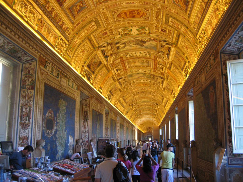 The Vatican Museums display masterpieces of Renaissance art & sculpture